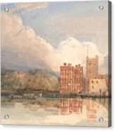 View Of Lambeth Palace On Thames Acrylic Print