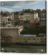 View Of The Seine Acrylic Print