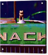 Wack Truck Acrylic Print