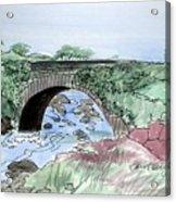 Wishing Bride Bridge, Co.. Kerry Acrylic Print