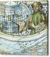 Amerigo Vespucci (1454-1512) Acrylic Print