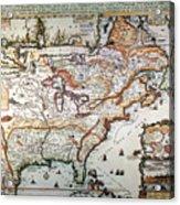 New France, 1719 Acrylic Print