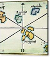 Azores, 1528 Acrylic Print