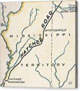 Natchez Trace, 1816 Acrylic Print