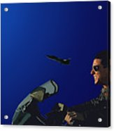 002. The Danger Zone Acrylic Print
