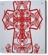 003 Butterfly-cross Acrylic Print