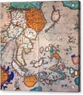 Pacific Ocean/asia, 1595 Acrylic Print