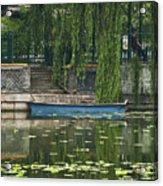 0044-2- Row Boat Acrylic Print