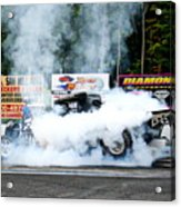 0056 08-04-2013 Lebanon Valley Dragway Night Of Fire Acrylic Print