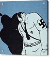 Adolf Hitler Cartoon, 1935 Acrylic Print