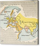 World Map, C1300 Acrylic Print