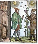 Wine Merchant, 1582 Acrylic Print