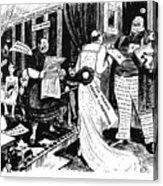Press Cartoon, 1912 Acrylic Print