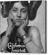 Hairstyle: Hopi, 1911 Acrylic Print
