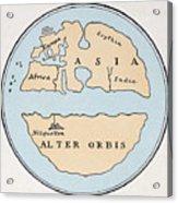 World Map, 1st Century Acrylic Print