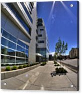 01 Conventus Medical Building On Main Street Acrylic Print