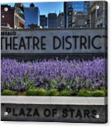 01 Plaza Of Stars Buffalo Theatre District Acrylic Print
