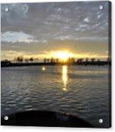 012 April Sunsets Acrylic Print