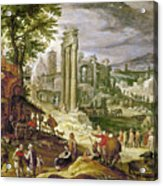 Roman Forum, 16th Century Acrylic Print