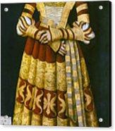 Katharina Von Mecklenburg Acrylic Print by Granger