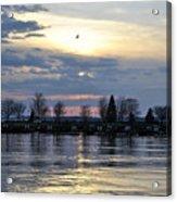 013 April Sunsets Acrylic Print