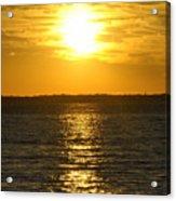 013 Sunset 16mar16 Acrylic Print