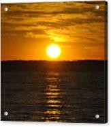 014 Sunset 16mar16 Acrylic Print