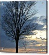 015 April Sunsets Acrylic Print