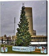 02 Happy Holidays From First Niagara Acrylic Print