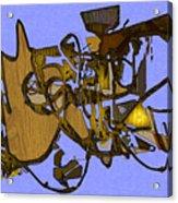 Tangles Acrylic Print