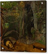 026    Some Are Forever Sleeping In The Woods V Acrylic Print