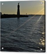 03 Sunset 16mar16 Acrylic Print