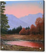 051116-3020     First Light Of Day   Acrylic Print