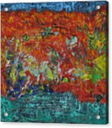 057 Abstract Thought Acrylic Print