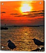 06 Sunset Series Acrylic Print