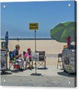 0676- Venice Beach Acrylic Print
