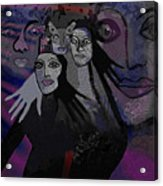071   The  People Of   Night  A Acrylic Print