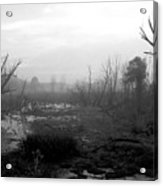 072806-23bw  A Shortcut Through Mordor Acrylic Print
