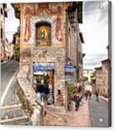 0755 Assisi Italy Acrylic Print