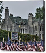08 Flags For Fallen Soldiers Of Sep 11 Acrylic Print