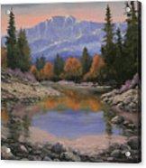 080120-1814  October View - Pikes Peak Acrylic Print