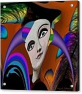 087 -   Flippy Girl  Acrylic Print