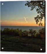 0874- Lake Michigan Sunset Acrylic Print