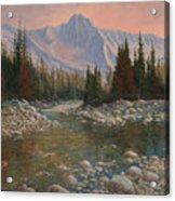 090504-1216   Rocky Creek Acrylic Print