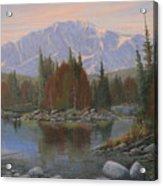 090506-1418   Colorado Morning Acrylic Print