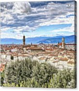 0960 Florence Italy Acrylic Print