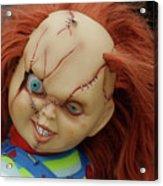 Chucky's Back Acrylic Print