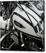 1 - Harley Davidson Series  Acrylic Print by Lainie Wrightson