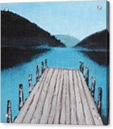 Meditation Acrylic Print