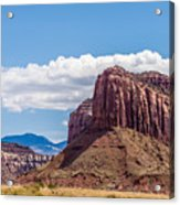 Views Of Canyonlands National Park Acrylic Print